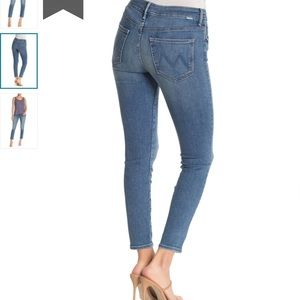 MOTHER Jeans - MOTHER high waisted looker ankle jean NWT